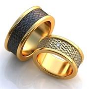 """Обручальные кольца """"Золотая любовь"""""""