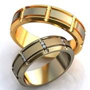 """Обручальные кольца """"Любовь марковь"""""""