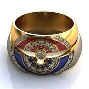"""Обручальные кольца """"Сверкающая любовь"""""""