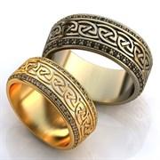 """Обручальные кольца """"Орнаменты любви"""""""
