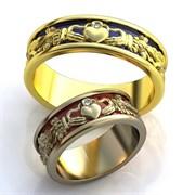 """Обручальные кольца """"Сердца любви"""""""