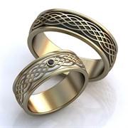 """Обручальные кольца """"Любовное сплетение"""""""
