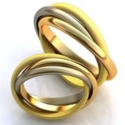 """Обручальные кольца """"Сплетение любви"""""""