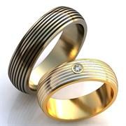 """Обручальные кольца """"Дороги любви"""""""