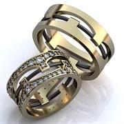 """Обручальные кольца """"Блестящая любовь"""""""
