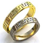 """Обручальные кольца """"Крепкая любовь"""""""