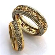 """Обручальные кольца """"Любовные узоры"""""""