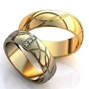 """Обручальные кольца """"Раскошная любовь"""""""