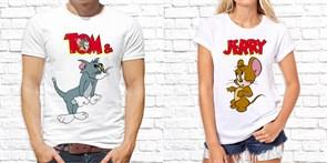 """Парная футболка """"Том и Джерри """""""