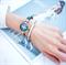 Парные браслеты из стали для сестричек - фото 12409